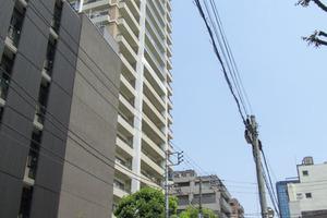 アリビオーレ神楽坂シティタワーの外観