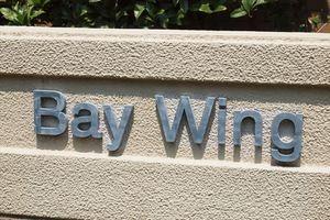 BeCITY(ビーシティ)ベイウイングの看板