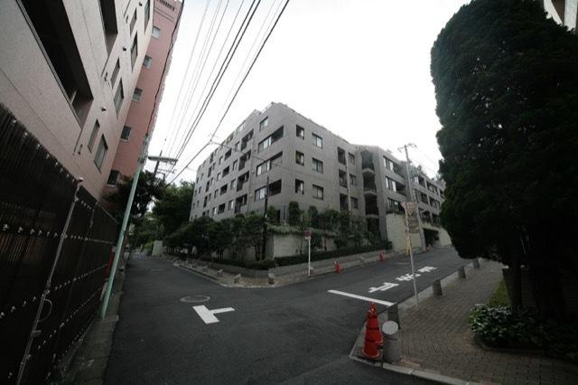 クレッセント仙台坂パークサイドの外観
