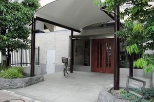 高田馬場四丁目パークホームズのエントランス