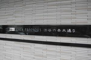 ガーラプレシャス渋谷六本木通りの看板