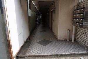 グレイスマンション(台東区)のエントランス