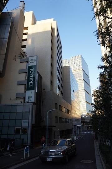 オリエント赤坂モートサイドビルの外観
