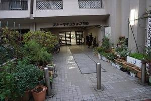 ストークマンション三田のエントランス