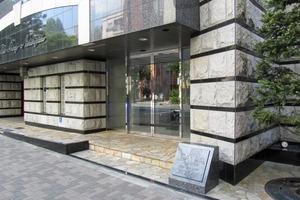 ガラグランディ西新宿のエントランス