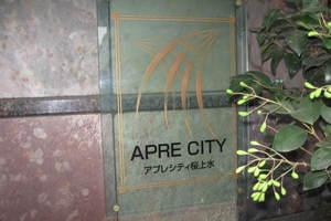 アプレシティ桜上水の看板
