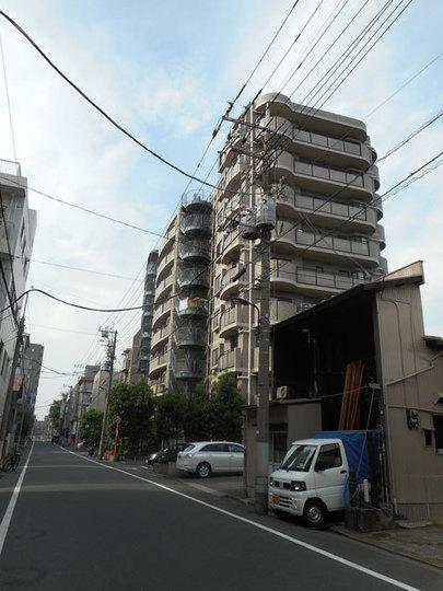 ライオンズマンション菊川リバーサイドの外観