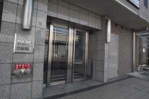 OLIO(オリオ)渋谷西原のエントランス