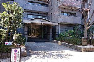 パークハウス多摩川南2番館のエントランス