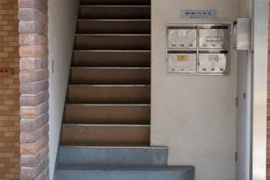 中村ハウスのエントランス