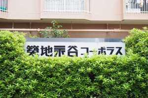 築地永谷コーポラスの看板