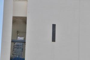 桑川町住宅1号棟の看板
