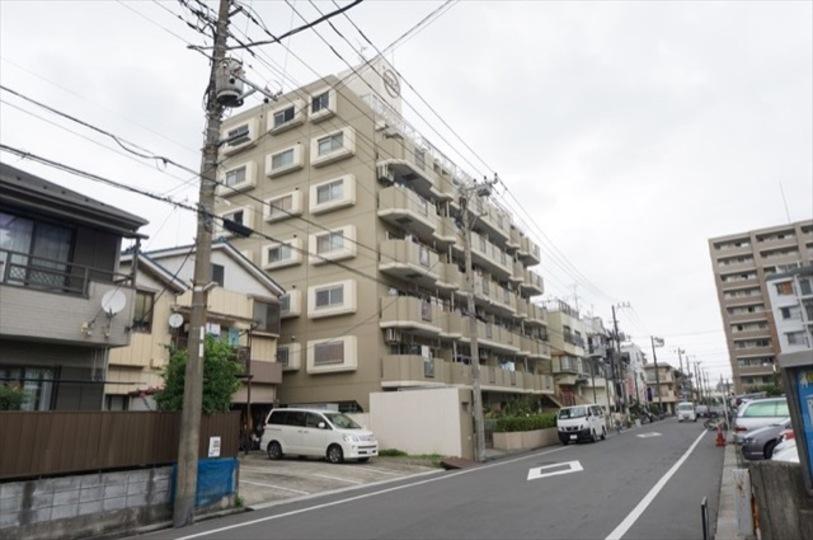 川崎第2ダイヤモンドマンションの外観