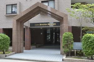 ライオンズマンション篠崎のエントランス