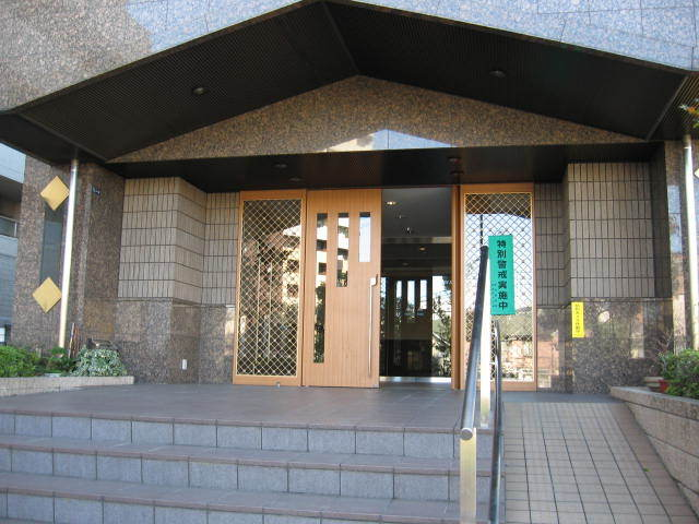 ライオンズシティ西新宿のエントランス