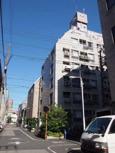 クリオ入谷1番館の外観