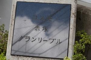 コスモ赤塚グランリーブルの看板