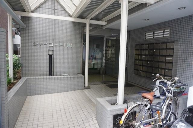シティコート川崎のエントランス