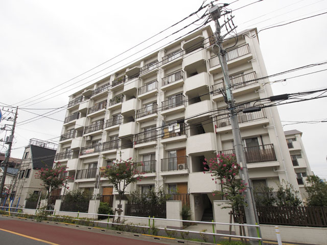 高島平第3ローヤルコーポ(A・B棟)の外観