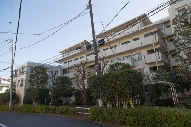 桜新町スカイマンションの外観