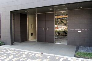 ガーラアヴェニュー渋谷のエントランス
