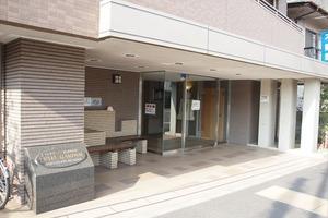 レクセルガーデン仙台堀川公園のエントランス