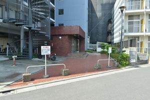 京成サンコーポ北小岩のエントランス