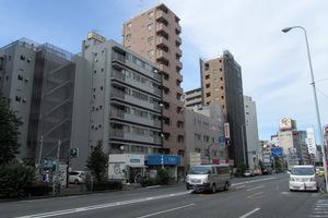 スカイコート新宿曙橋第2の外観
