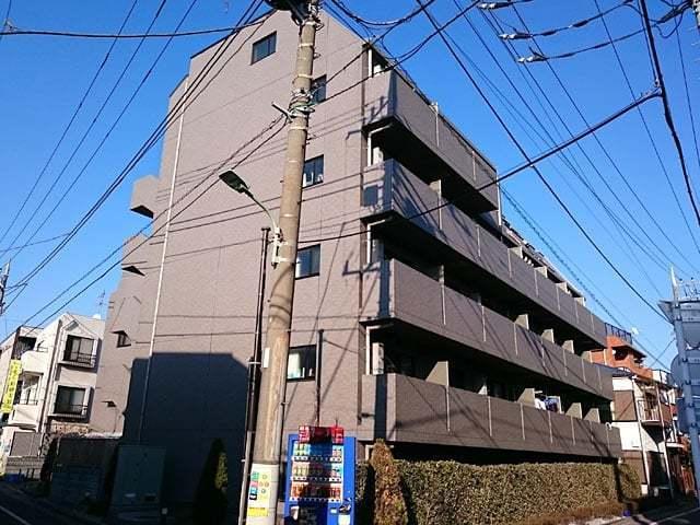 ルーブル東蒲田弐番館の外観