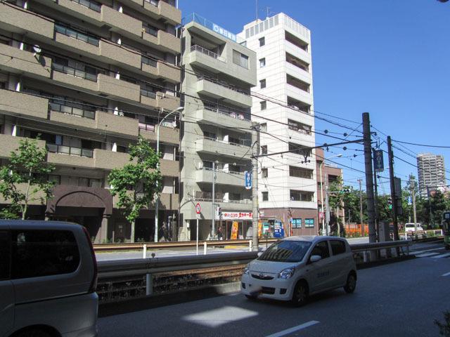 早稲田ハイツカスガの外観
