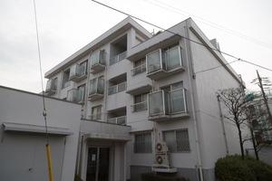 上野毛リッツハウス(A〜D館)の外観