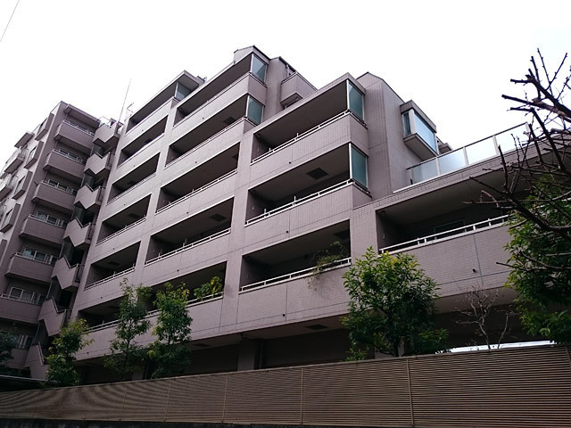 コンセール大森山王弐番館の外観
