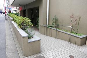 ロイヤルパレス渋谷のエントランス