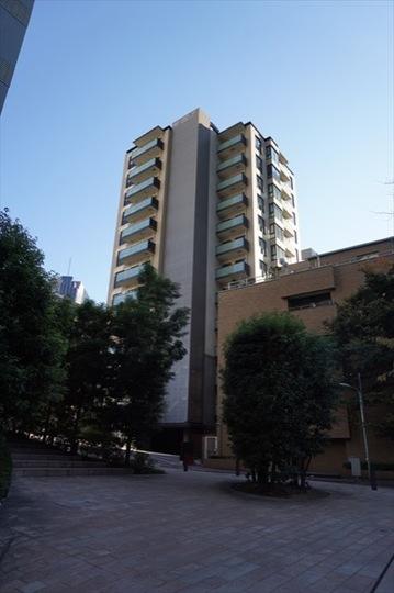 パークコート赤坂桜坂の外観