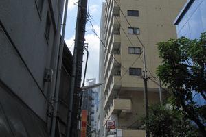 ルックハイツ新宿の外観