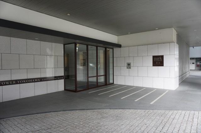 パークタワー横浜ステーションプレミアのエントランス