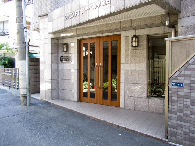 スカイコートヌーベル早稲田のエントランス