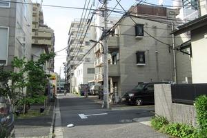 パステルシティ西新宿の外観