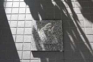 キャニオングランデ見次公園の看板