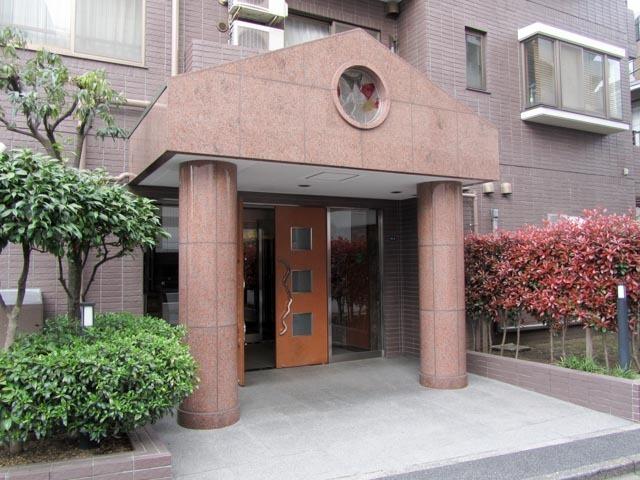 スカーラ渋谷松濤南のエントランス