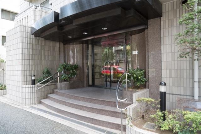 荻窪パークハウスのエントランス