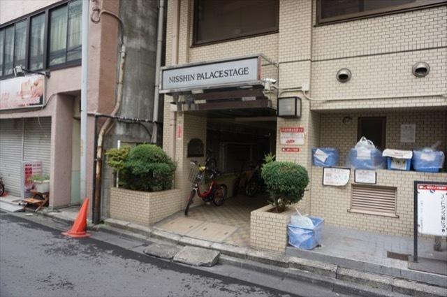 日神パレステージ川崎のエントランス