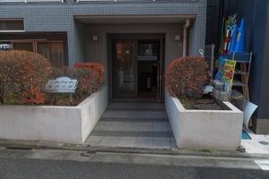 メディアシティ駒沢大学のエントランス