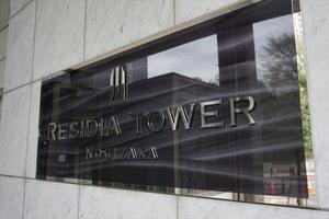 レジディアタワー乃木坂の看板