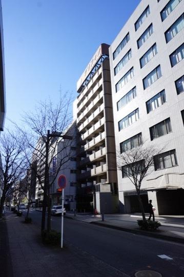 グリフィン新横浜弐番館の外観