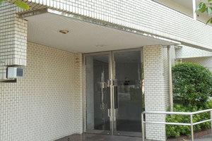 吾妻橋サニーハイツのエントランス