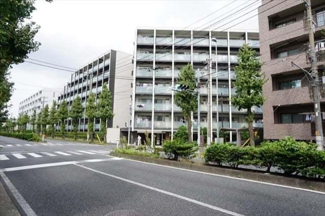 レーベン新川崎デュアリズムの外観