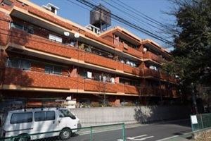 富士見ヶ丘永谷コーポラスの外観