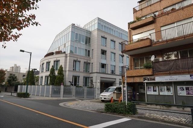 パークマンション三田日向坂の外観