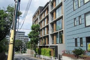 シティハウス新宿戸山の外観